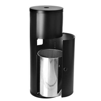 Tower Stand With Stainless Steel Dispenser For Disinfecting