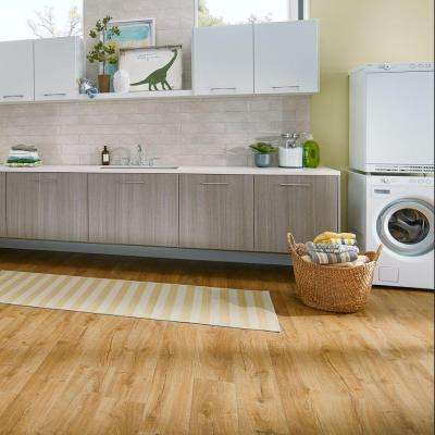 Outlast+ Waterproof Marigold Oak 10 mm T x 7.48 in. W x 47.24 in. L Laminate Flooring (549.64 sq. ft. / pallet)