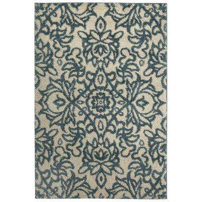 Spokane Abyss Blue 5 ft. x 8 ft. Area Rug