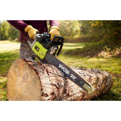 20 in. 50cc 2-Cycle Gas Chainsaw with Heavy-Duty Case