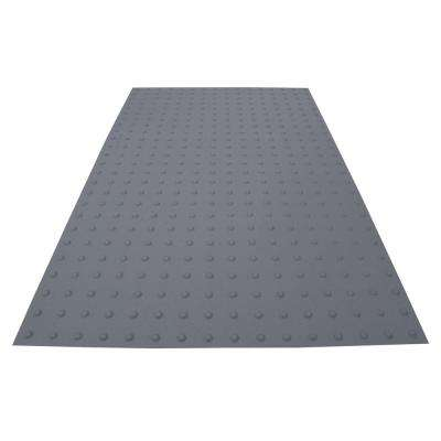 PowerBond 36 in. x 5 ft. Light Gray ADA Warning Mat (Peel and Stick)