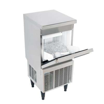 Cocktail Series 50 lb. Freestanding Ice Maker in Stainless Steel