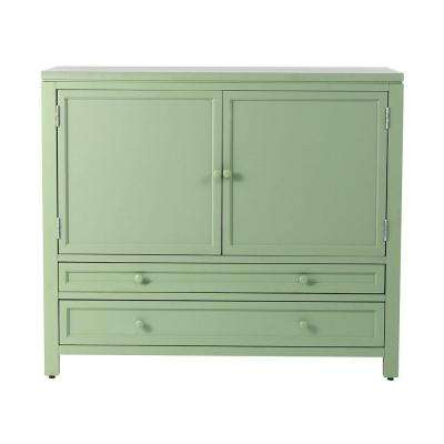 42 in. Wood Craft Space Storage Cabinet in Rhododendron Leaf