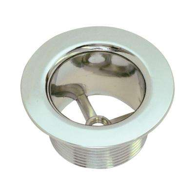 1-1/2 in. Zinc Bath Strainer Body, Chrome