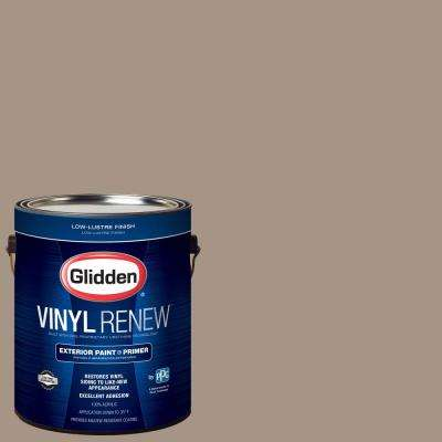 1 gal. #HDGWN38D Brushwood Tan Low-Lustre Exterior Paint with Primer