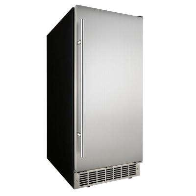 32 lb. Built-In Ice Maker in Stainless Steel
