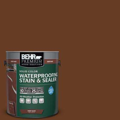 1 gal. #SC-110 Chestnut Solid Color Waterproofing Stain and Sealer