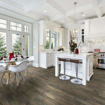 HS Fumed Umber Acacia 3/8 in. T x 5 in. W x Varying L Click Lock Exotic Engineered Hardwood Flooring (26.25 sq.ft./case)