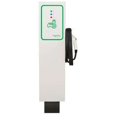 EVlink 30 Amp Level-2 Outdoor Pedestal Electric Vehicle Charging Station