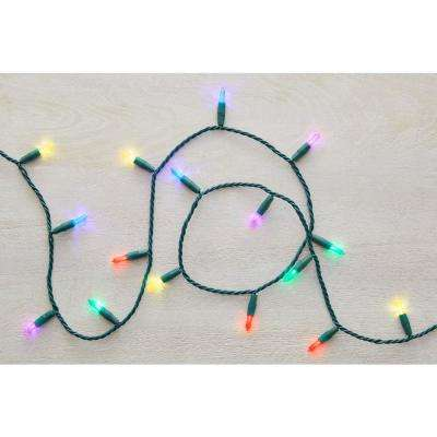 100-Light Mini Multi-Color Ultra Bright LED String Light Set