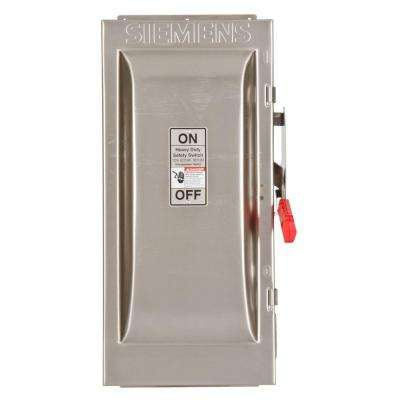 Heavy Duty 100 Amp 600-Volt 3-Pole Type 4X Non-Fusible Safety Switch