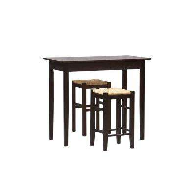 Tavern 3-Piece Counter Table Set