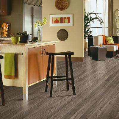 Stratmax Value Plus 12 ft. Width x Custom Length Silver Dapple Residential Vinyl Sheet Flooring