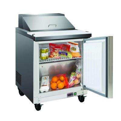 X-Series 7 cu. ft. Commercial Refrigerator in Stainless Steel