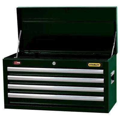 26 in. 4-Drawer Tool Chest in Wide Dark Green