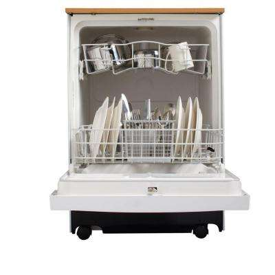 Convertible Portable Dishwasher in White