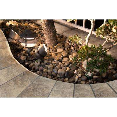 Silver 12 in. x 24 in. Tumbled Travertine Pool Coping (15 Piece / 30 sq. ft. / Pallet)