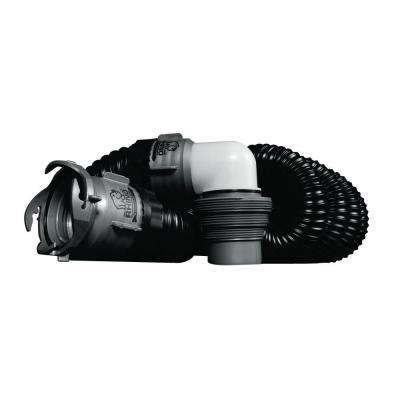 RhinoEXTREME Sewer Hose Kit with 15 ft. Hose and Swivel Fittings