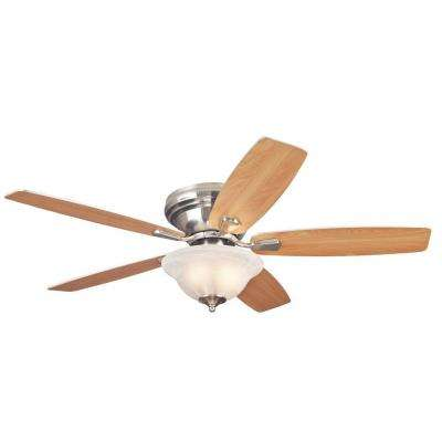 Sumter 52 in. Brushed Nickel Ceiling Fan