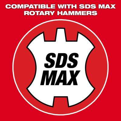3 in. x 12 in. SDS-Max Steel Scaling Chisel