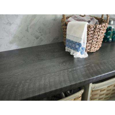 5 ft. x 12 ft. Laminate Sheet in Charred Formwood with Natural Grain Finish