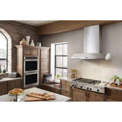 48 in. Range Hood in Stainless Steel (Blower Sold Separately)