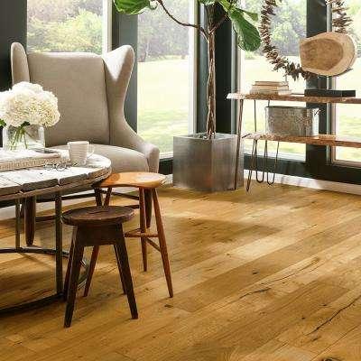 Revolutionary Rustics White Oak Natural 1/2 in. T x 7-1/2 in. W x Varying L Engineered Hardwood Flooring (25.7 sq.ft.)