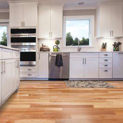 Hickory Natural 3/4 in. Thick x 2-1/4 in. Wide x Varying Length Solid Hardwood Flooring (20 sq. ft. / case)