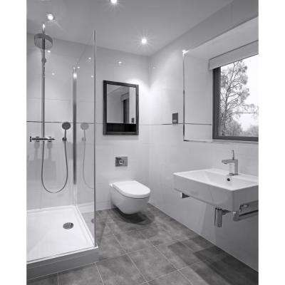 Lismori Grigio 12 in. x 12 in. Matte Ceramic Floor and Wall Tile (20.37 sq. ft. / case)