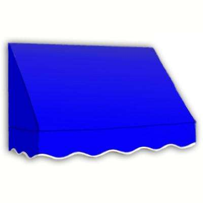 10 ft. San Francisco Window Awning (44 in. H x 24 in. D) in Bright Blue