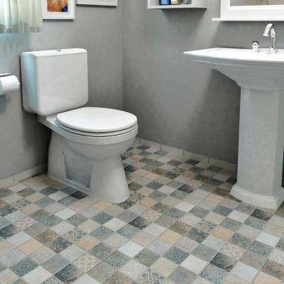 Deco Calzada Ardesia 17-1/2 in. x 17-1/2 in. Porcelain Floor and Wall Tile (10.94 sq. ft. / case)