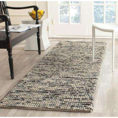 Bohemian Grey/Multi 3 ft. x 6 ft. Runner Rug