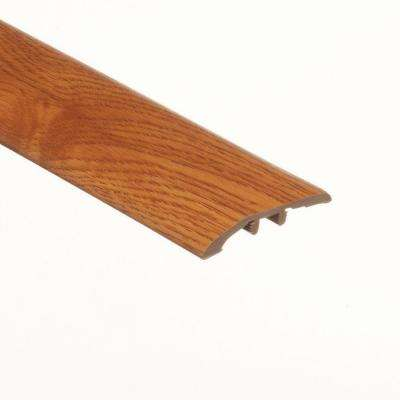 Oak Amber 5/16 in. Thick x 1-3/4 in. Wide x 72 in. Length Vinyl Multi-Purpose Reducer