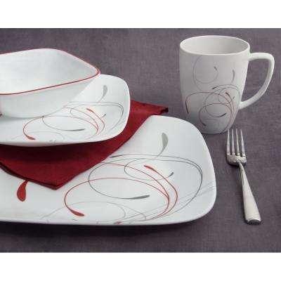 Square 16-Piece Splendor Dinnerware Set