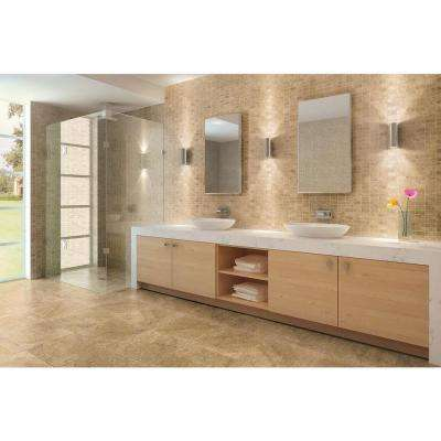 Travisano Navona 12 in. x 12 in. x 8 mm Porcelain Mosaic Floor and Wall Tile (0.969 sq. ft. / piece)