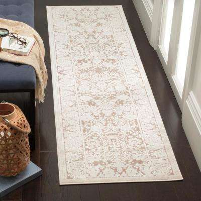 Reflection Beige/Cream 2 ft. x 8 ft. Runner Rug