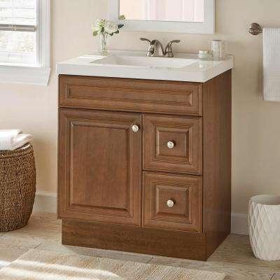 Glensford 30 in. W x 21 in. D Bathroom Vanity Cabinet in Butterscotch