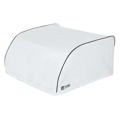 Overdrive 39 in. L x 27 in. W x 14.5 in. H RV Air Conditioner Cover White Atwood