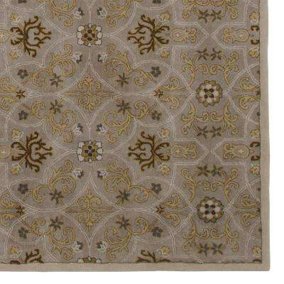 Grimsby Grey 5 ft. x 8 ft. Area Rug