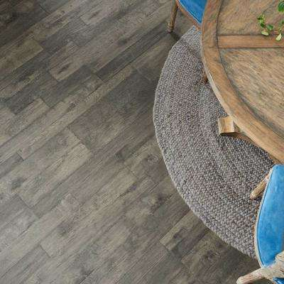 Outlast+ Ventura Pewter Hickory 10mm Thick x 7-1/2 in. Wide x 47-1/4 in. Length Laminate Flooring (19.63 sq. ft.)