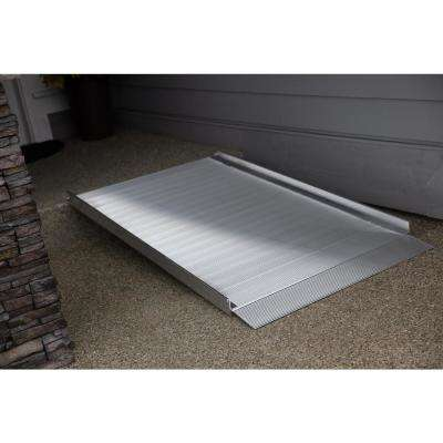 GATEWAY 3G 9 ft. Aluminum Solid Surface Wheelchair Ramp