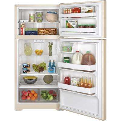 14.6 cu. ft. Top Freezer Refrigerator in Bisque, ENERGY STAR