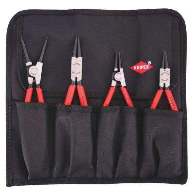 4-Piece Circlip Snap with Ring Set In Pouch
