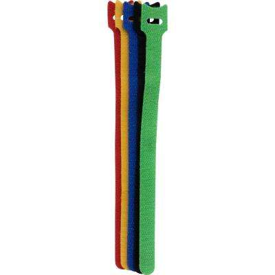 10 in. Fabric Cable Ties (6-Piece)