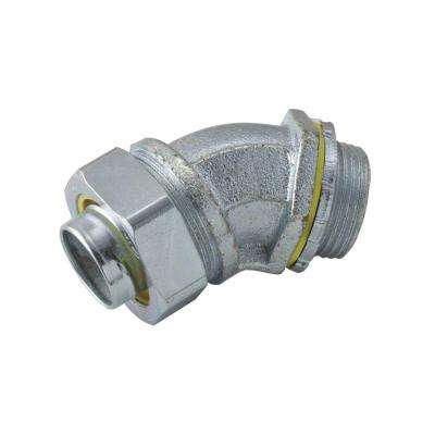 Liquidtight 1-1/2 in. Uninsulated Connector (5-Pack)