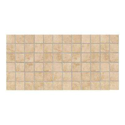 Salerno Nubi Bianche 12 in. x 24 in. x 6 mm Ceramic Mosaic Floor and Wall Tile