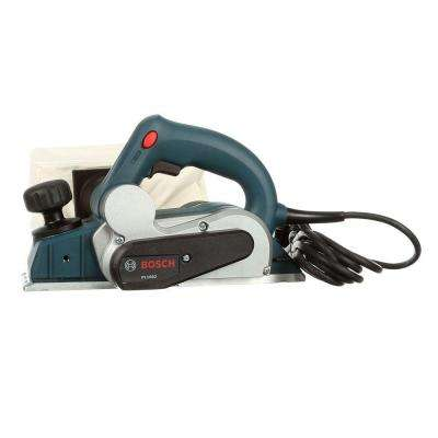 6 Amp Corded Electric 3-1/4 in. Planer Kit with (2) Reversible Woodrazor Micrograin Carbide Blades