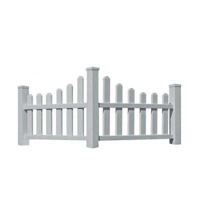 2.6 ft. H x 4.6 ft. W Country Corner Picket