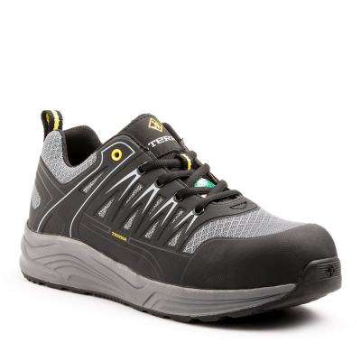Rebound Men's Black/Gray Safety Shoe