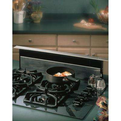 28000 Series Eclipse 30 in. Telescopic Downdraft System in Stainless Steel